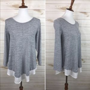 Skies Are Blue Knit Top